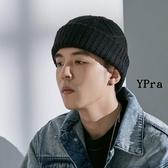 【YPRA】針織毛帽 羊毛帽 保暖 針織帽 麻花 冷帽 毛線帽