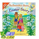 [106美國直購] 2017美國暢銷書 The Berenstain Bears and the Easter Story:Stickers Included!(Berenstain Bears/Living Lights)