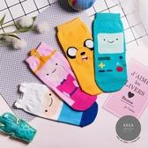 正韓直送【K0300】韓國襪子 全版探險活寶短襪 韓妞必備短襪 百搭純色襪 卡通襪 阿華有事嗎