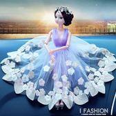擺飾品 汽車婚紗巴比娃娃女士車內擺件紗裙娃娃時尚裝飾YTL Ifashion