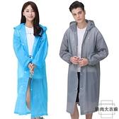 雨衣戶外旅游徒步透明成人一次性加厚便攜式單人雨披【時尚大衣櫥】
