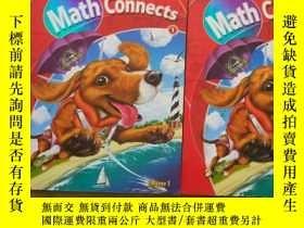 二手書博民逛書店Math罕見Connects Macmillan Mcgraw-