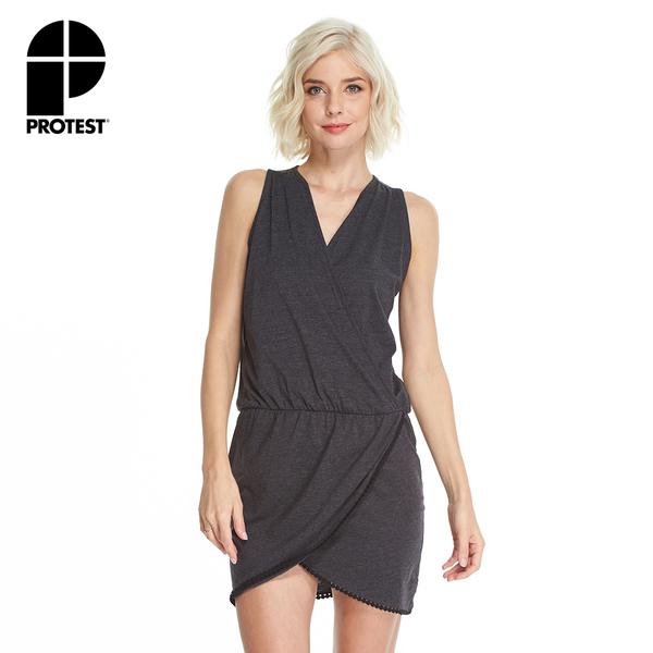 PROTEST 女 洋裝 (真實黑) TYPICAL DRESS