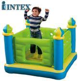 交換禮物-家用小型室內兒童玩具 寶寶充氣跳床城堡蹦蹦床XW