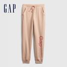 Gap女童 Gap x Disney 迪士尼系列聯名Logo運動褲 672333-淺粉色