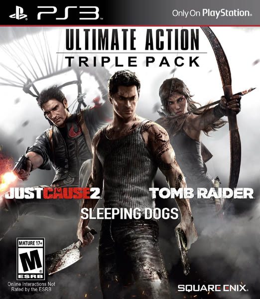 PS3 Ultimate Action Triple Pack 終極行動 三重包(美版代購)