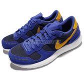 【五折特賣】Nike 休閒慢跑鞋 Wmns Air VRTX 17 藍 黃 白底 麂皮 復古外型 女鞋【PUMP306】 881194-400