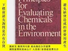 二手書博民逛書店principles罕見for evaluating chemi