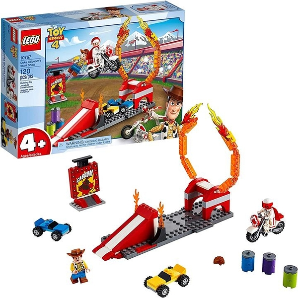 LEGO 樂高 Disney Pixars Toy Story Duke Caboom's Stunt Show 10767 Building Kit (120 Pieces)