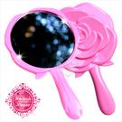 ◆隨身攜帶小物◆ SB-1403玫瑰手握式小鏡子 [50239]◇美容美髮美甲新秘專業材料◇