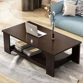茶幾 簡約現代客廳邊幾 家具儲物簡易茶幾 雙層木質小茶幾 小戶型桌子