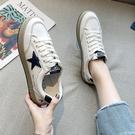 休閒鞋/平底鞋 網紅小白鞋女平底春夏新款女鞋板鞋ins街拍學生鞋子休閒百搭