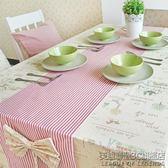日系風格 純棉麻布藝桌布 台布蓋布餐桌巾茶幾電腦桌墊桌旗