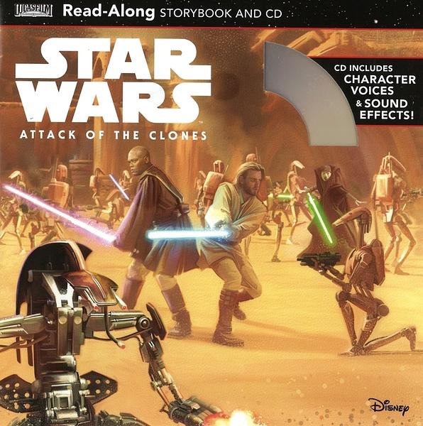 【麥克書店】STAR WARS ATTACK OF THE CLONES /聽迪士尼說故事