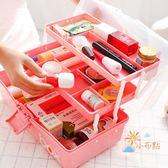 家庭藥箱三層家用可愛大容量放藥箱可手提工具箱便攜藥箱寶寶藥箱