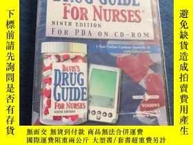 二手書博民逛書店DAVIS S罕見DRUG GUIDE FOR NURSES NINTH EDITIONY223356 DAV