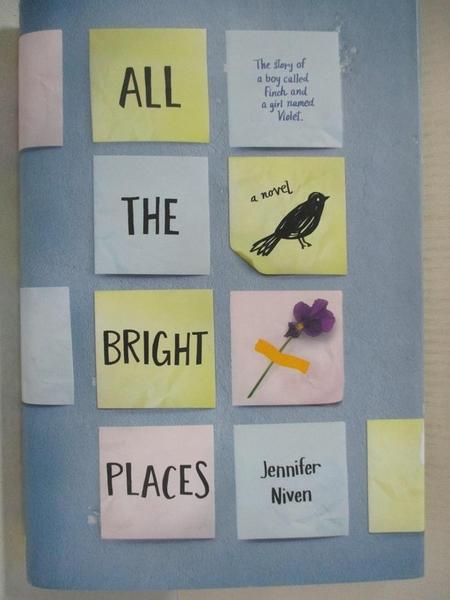 【書寶二手書T3/原文小說_DAI】All the Bright Places_Niven, Jennifer