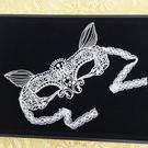 性感狐狸造型蕾絲眼罩女衣角色扮演派對跑趴必備心機眼罩夜店化妝舞會cosplay