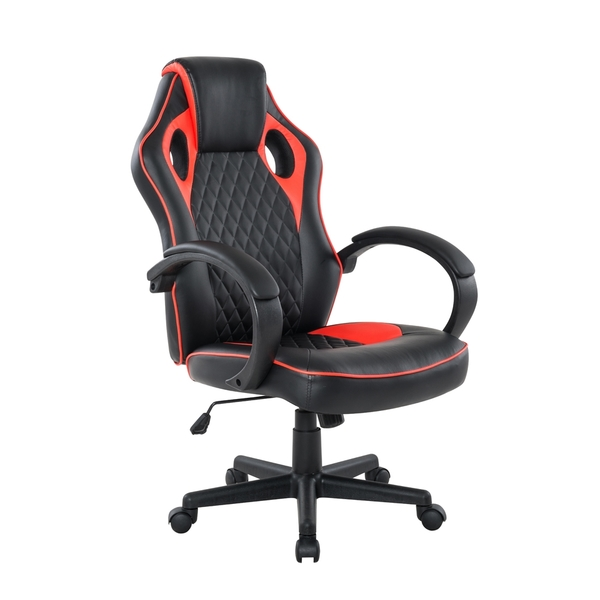 [客尊屋-椅天]Grandiose雄圖賽車型電競椅-EGS002-兩色可選-紅色