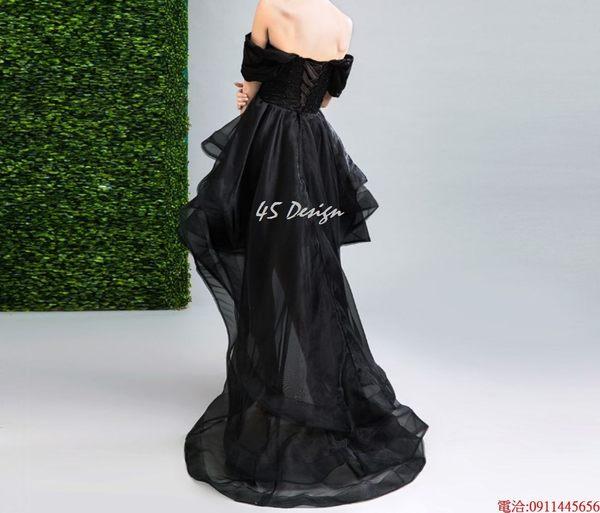 (45 Design)  7天到貨 客製化顏色大尺碼訂做 日韓婚紗禮服 高級訂製服 連身裙 洋裝媽媽裝10