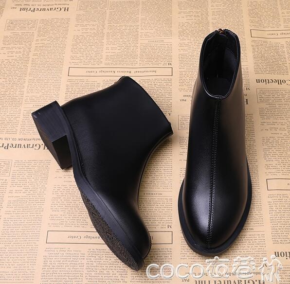 馬丁靴女英倫風新款帥氣百搭網紅靴子真皮機車短靴冬秋款春季特賣