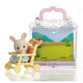 森林家族 人偶 嬰兒車提盒