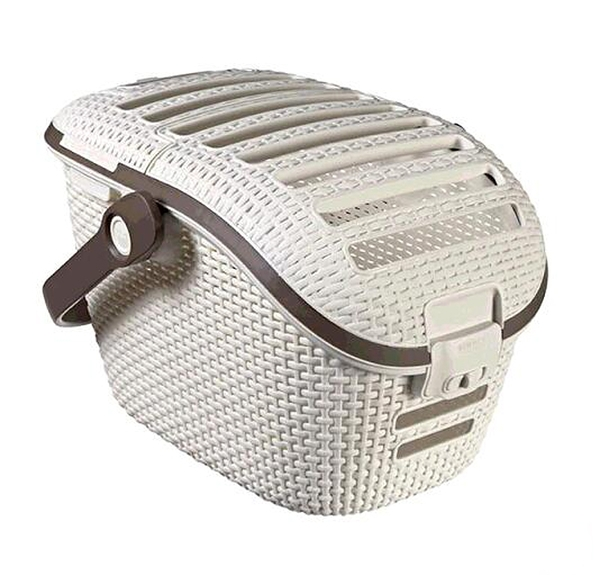 [COSCO代購] C128130 CURVER RATTAN PET CARRIER 寵物提籃 54X37X34公分