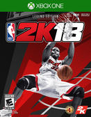 XBOXONE 勁爆美國職籃 2K18 ONE NBA 2K18 NBA2K18 中文版 傳奇珍藏版+護腕