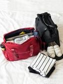 行李包 手提旅行包折疊旅行袋女大容量登機防水行李袋可套拉桿包旅游包男 夢娜麗莎