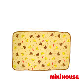 MIKI HOUSE  可愛普奇熊多用途毛毯(象牙)