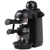 咖啡機 格米萊 CRM2008 家用咖啡機迷你全半自動意式現磨壺煮小型蒸汽式 220v mks小宅女