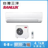 好禮送【SANLUX 三洋】6-8坪變頻冷暖分離式冷氣SAC-41VH7/SAE-41VH7