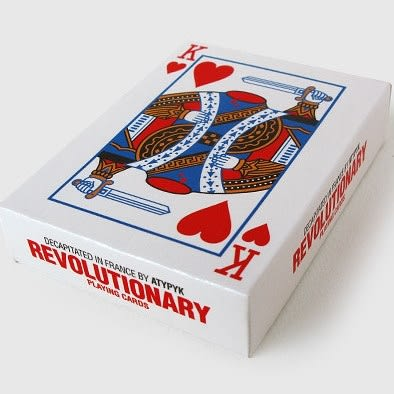 【USPCC 撲克】法國原裝進口 Revolutionary Playing Cards革命斷頭撲克牌