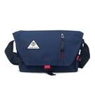 【多功能單肩郵差包-深藍 8204#】HAOSHUAI 皓帥包 斜背包 肩背包 工具包 側背包 隨身小背包