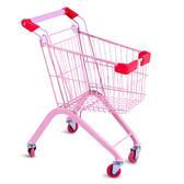 兒童超市購物車小孩過家家玩具寶寶生日禮物金屬手推車迷你童趣車WY免運