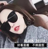 墨鏡女網紅街拍潮韓版復古gm太陽鏡女個性圓臉 夏季上新