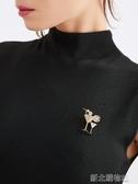 胸針可愛日系ins潮高檔個性女胸花氣質毛衣配飾別針固定衣服裝飾 新北購物城