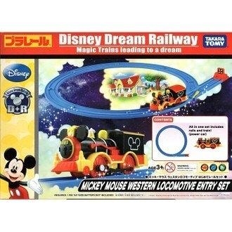【震撼精品百貨】Micky Mouse_米奇/米妮 ~迪士尼TOMY PLARAIL 迪士尼鐵道入門組-米奇#85682
