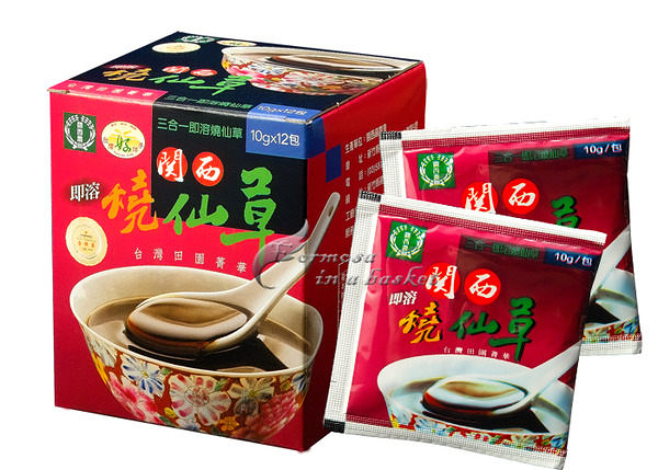 免運(超商取貨)~六盒~即溶燒仙草---新竹縣關西鎮農會
