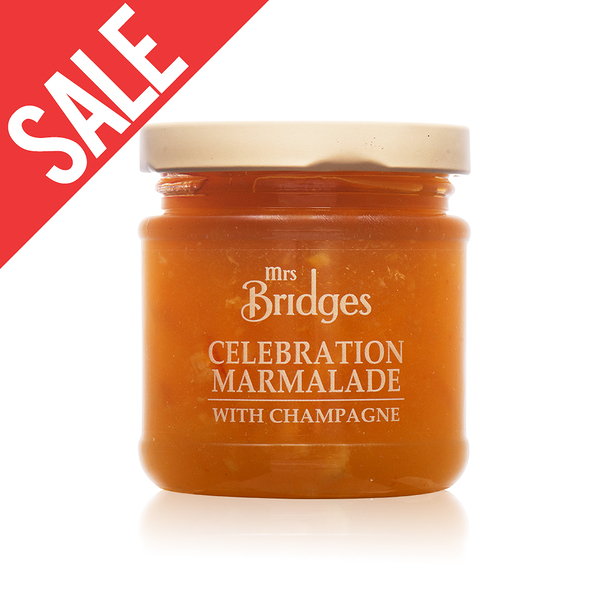舊包裝【MRS. BRIDGES】英橋夫人柑橘香檳果醬(小)113g 效期2020/05