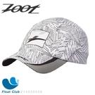 Zoot COOLMAX反光型運動跑帽(棕梠白)運動帽 路跑帽 鴨舌帽 帽圓遮陽帽 三鐵帽 棒球帽