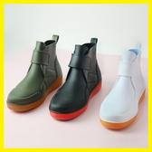 雨鞋男士水鞋秋冬低幫短筒時尚工作雨靴防滑