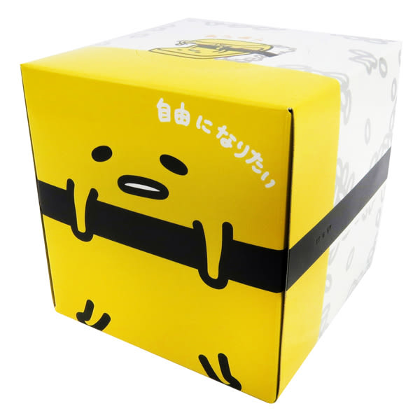蛋黃哥衛生紙 日製玉子燒造型方形盒裝抽取面紙/衛生紙 [喜愛屋]