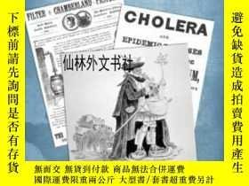 二手書博民逛書店【罕見】2014年出版 Cholera: A Worldwide