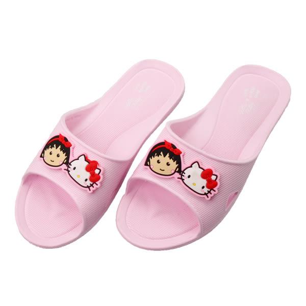 小丸子XKITTY室內拖鞋粉39/40【康是美】
