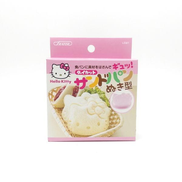 日本 skater Hello Kitty 大臉造型 吐司壓模 (4241) 親子廚房diy 下午茶點心 - 超級baby