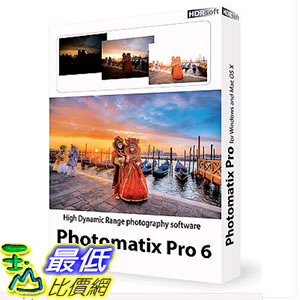 [107美國直購] HDR SOFT Photomatix Pro 6.0.2 for Win PC and Plugin for Lightroom FREE UPDATE