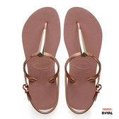 Havaianas 哈瓦士 新竹皇家 FreedomSLMaxi 粉色 金屬 人字鞋 女款 NO.H2150
