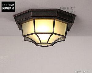 INPHIC- 美式陽檯燈工業風復古玄關書房過道走廊燈鋁藝小吸頂燈-B款_S197C