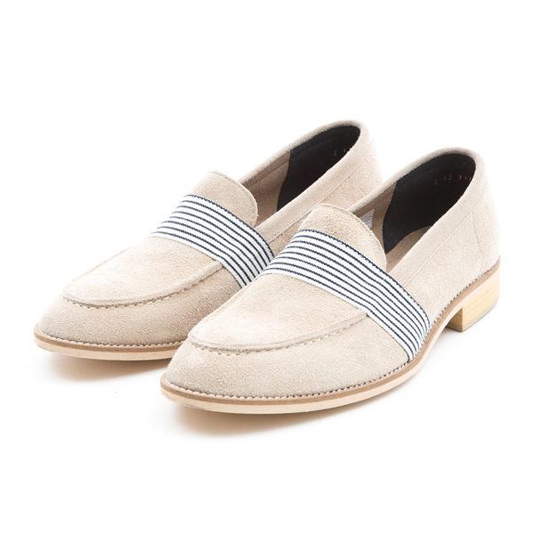 日本都會雅痞紳士樂福鞋#31111象牙白 -ARGIS日本製手工皮鞋